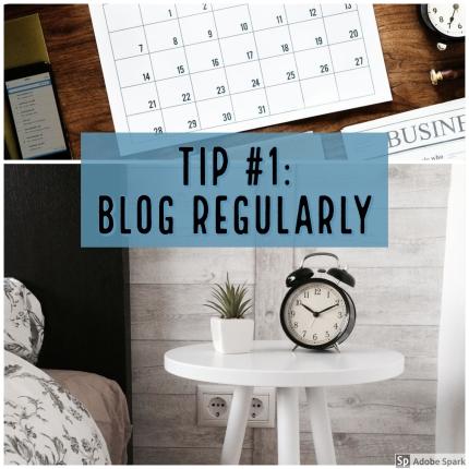 Blog Regularly