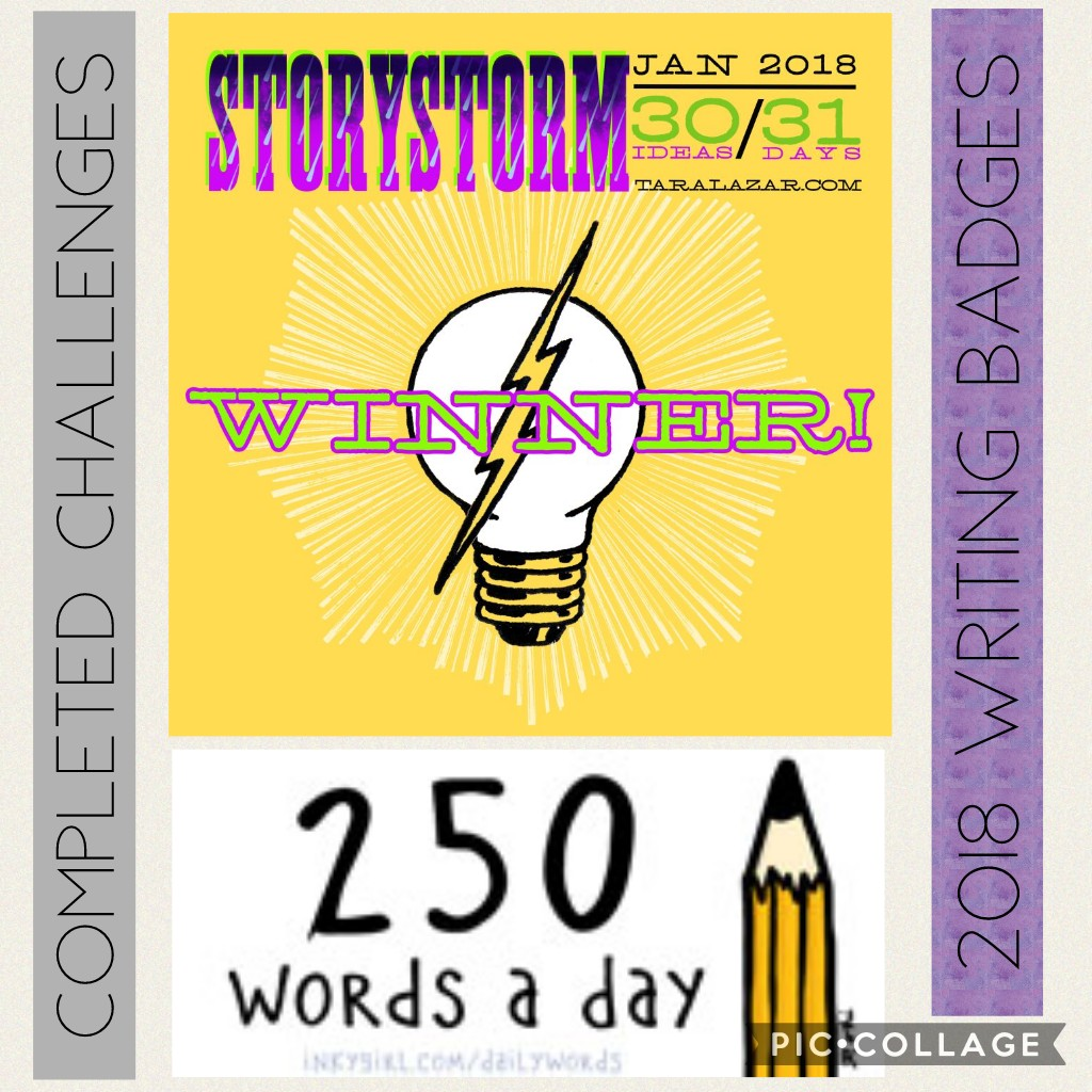 2018 Writing Challenges