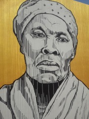 Harriet Tubman - Painted by Edreys Wajed