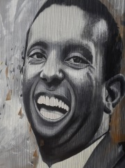 Stokely Carmichael - Painted by Chuck Tingley